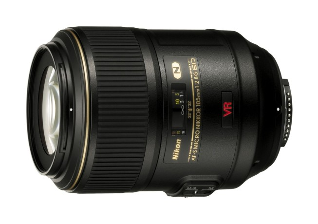 Nikkor macro lens with a focal length of 105 mm and a lens speed of f/2.8. Photo: Nikon