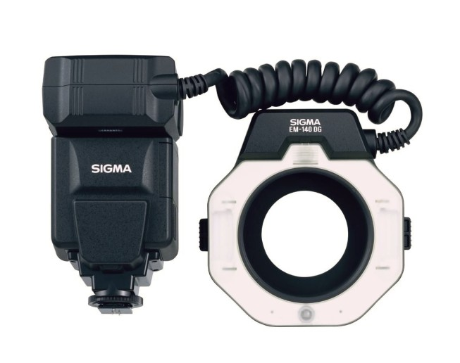 If you're serious about macro, a ring flash is the way to go. Photo: Sigma