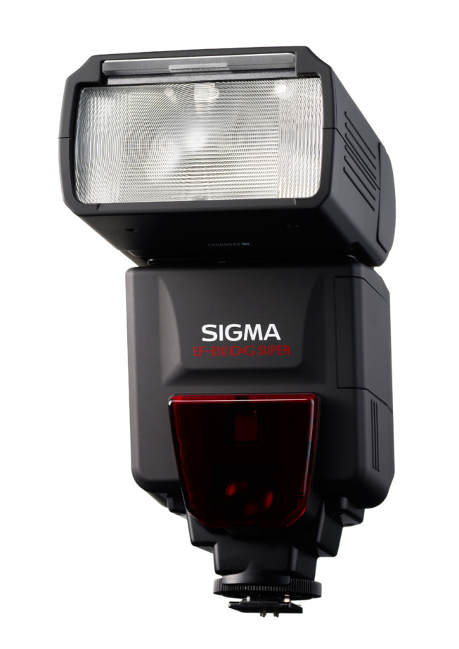 A mountable external flash. Photo: Sigma