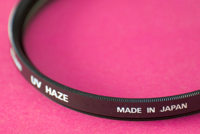 UV filter in detail