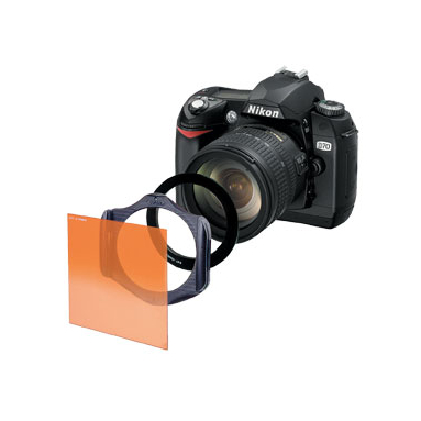 The Cokin filter system enables several filters to be layered over each other. Similarly as with DSLRs, there are multiple filter holders available for compacts as well