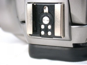 The standardization of hot-shoe mounts enables the use of third-party external flash units very widely—but old Konica Minolta cameras and new Sony cameras are left out