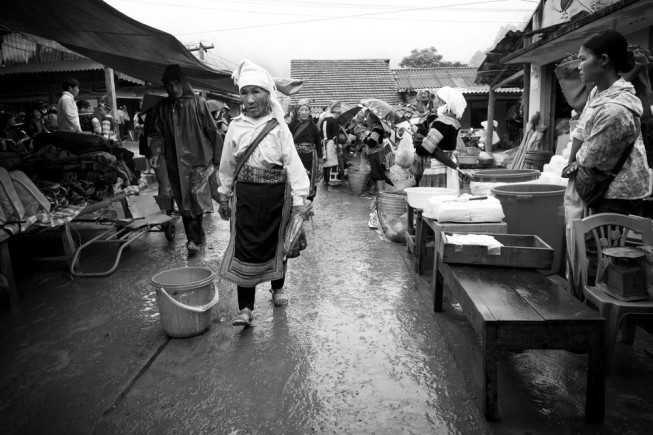 A Sunday market in north Vietnam. Photo: Tomáš Slavíček