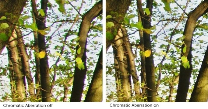 Lens Defects: Learn to Use LCPs (and DCPs): Strongly visible chromatic aberration can ruin a picture. You should definitely correct it if you'll be printing out a photo or using it at a high resolution.