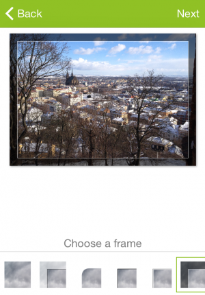 If you love the classic postcard look, then frames are for you.