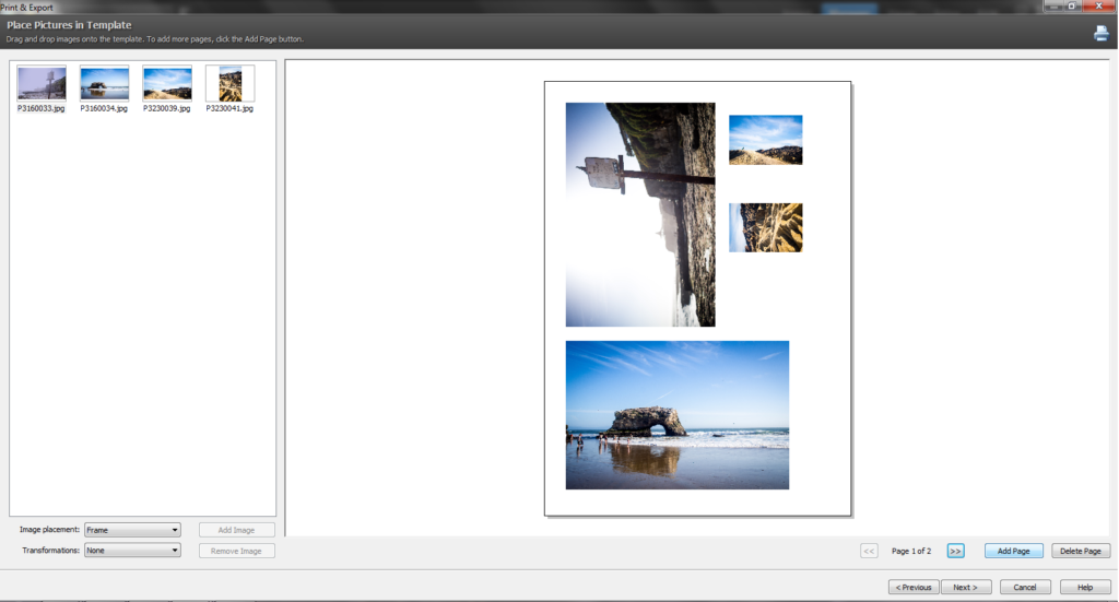 print your photosets easily at home learn photography by zoner