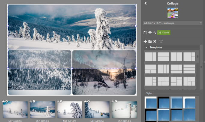 How to Print Multiple Photos on One Page: adjusting picture's location.