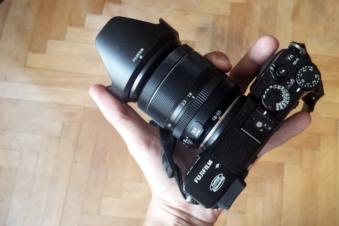 Even mirrorless may not fit in your back pocket if you're using a kit lens.