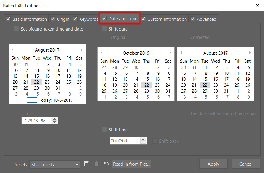 Changing a Picture's EXIF Time and Date | Learn Photography