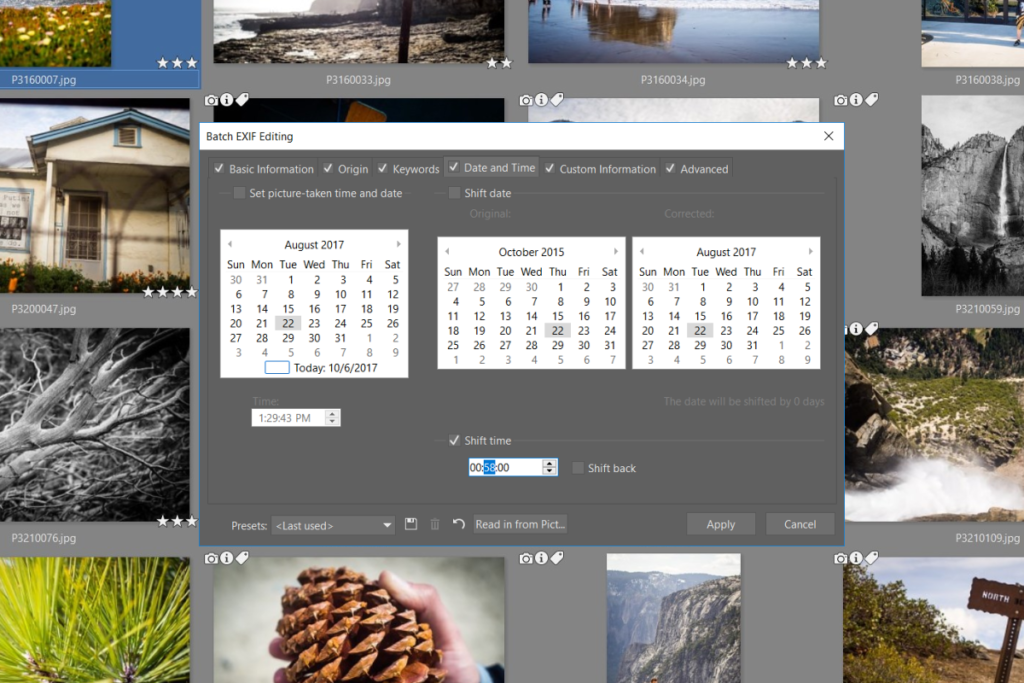 Changing a Picture's EXIF Time and Date   Learn Photography