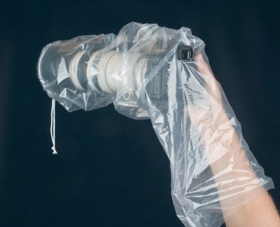 A rainsleeve. Photo: OP/TECH USA.