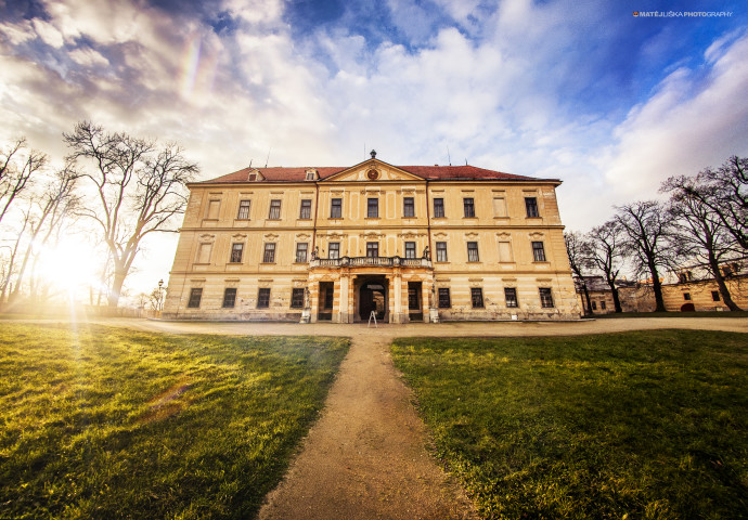 A manor house in Jemnice (Nikon D90, Samyang 8mm).