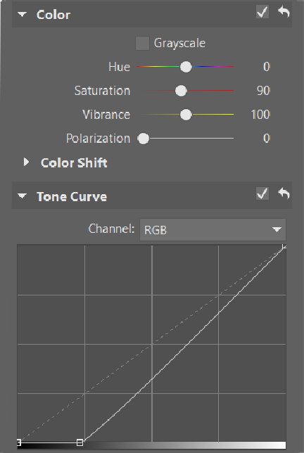 Editing Product Photos - curve showing blowout