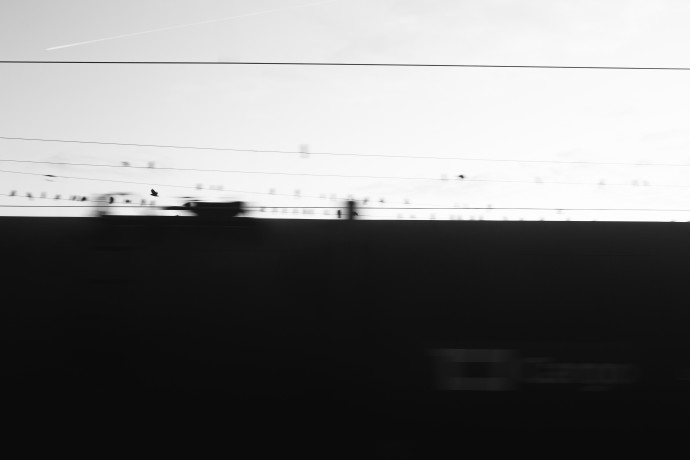 Another project in progress—this time it's one where I'm taking pictures out of a train window.