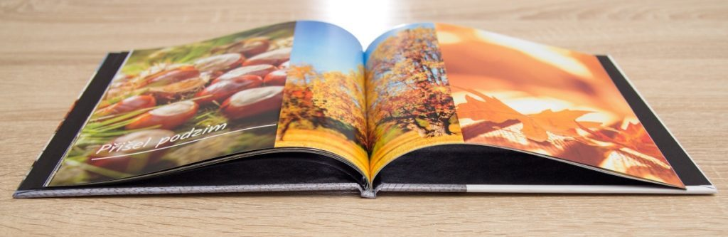 Your photo book can be the size of a regular sheet of paper, or a 20×20 cm square format. You can build it up based on a template—there are a variety to choose from. Photo book prices start from $23.99.