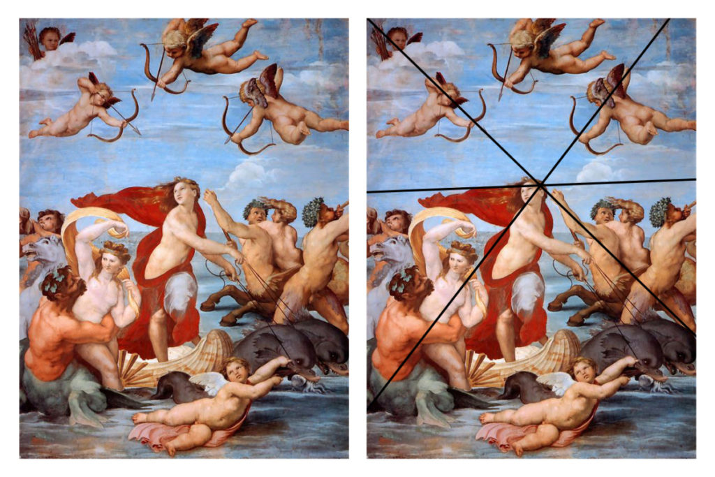 Raphael, the Triumph of Galatea, cca. 1512–1514