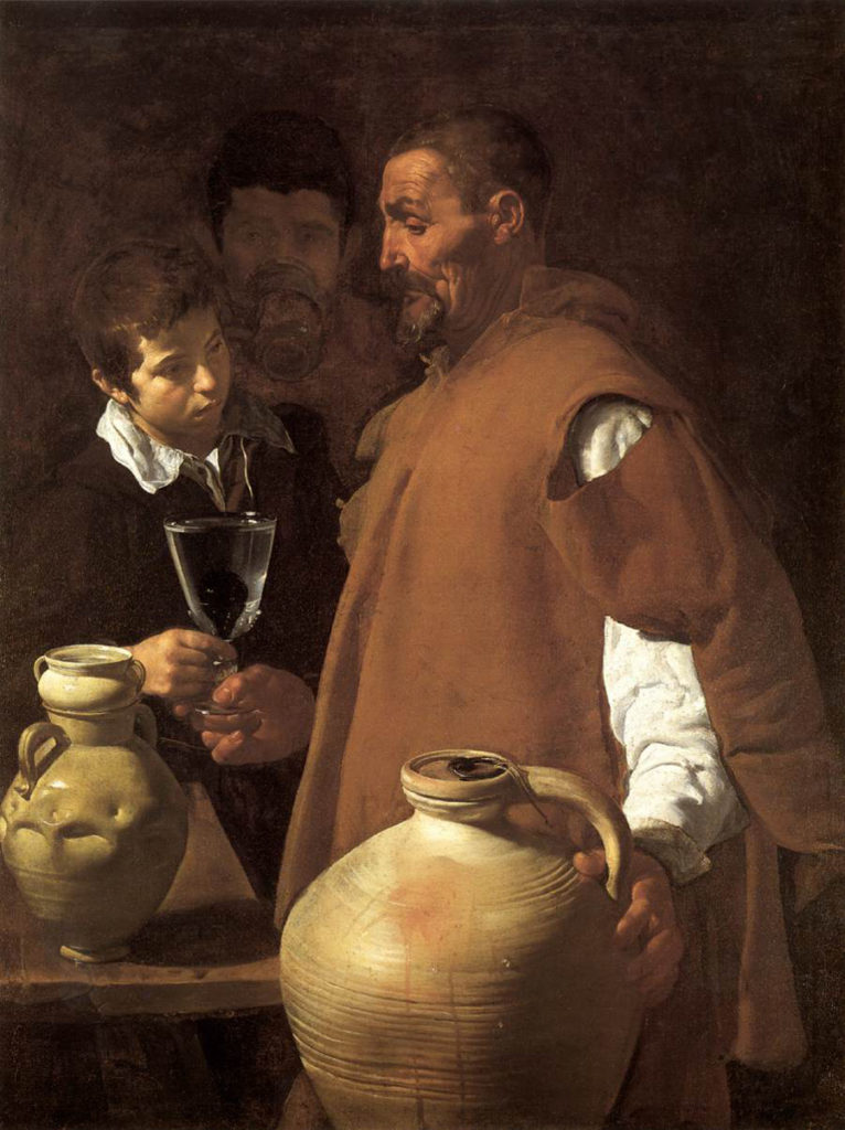 Diego Velázquez, The Waterseller of Seville, cca. 1619-20