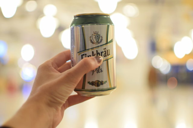 I often take pictures at the airport during my travels, and here I am again. A photo of a Swedish beer can at the airport.  Nikon D3300, AF-S NIKKOR 35 mm 1:1. 8 G, 1/20 s, f/1.8, ISO 400