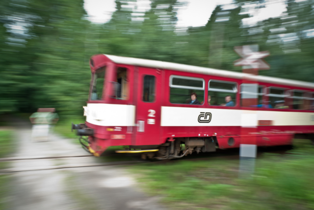 Panning is a classic reason to use shutter priority.