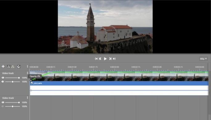 Video Editing in Just a Few Clicks: curves for level settings.