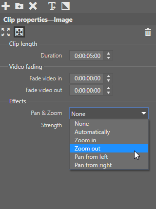 Video Editing in Just a Few Clicks: Pan & Zoom effects.
