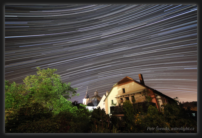 How to Photograph the Stars: A composite of 405 exposures at 30 second intervals.