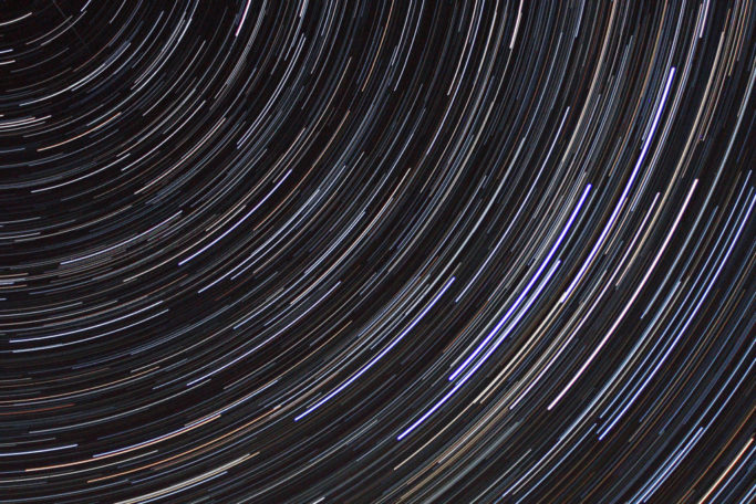 How to photograph star trails: Cassiopeia.