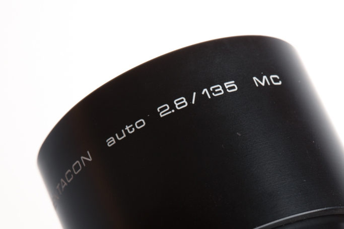 What Do Those Numbers and Letters on Lenses Mean: Pentacon auto 2.8/135 MC