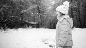 Fun and Wistful Portraits—See What Winter Kid Photography Can Offer You