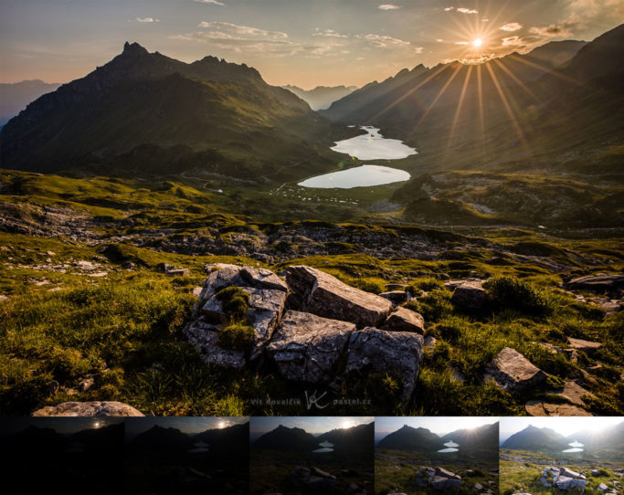 How to Photograph with the Sun in the Frame: HDR picture.