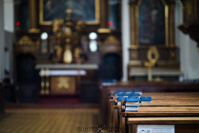 How to Photograph in Churches: low depth of field can be an advantage.