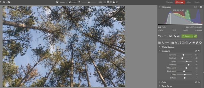 Basic Edits to Improve Photos From Your Phone: a better exposure settings.