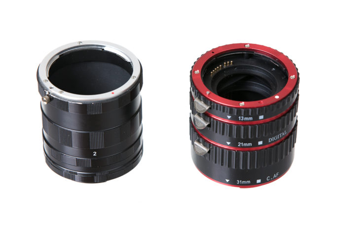 When to Upgrade Your Photo Equipment: extension tubes.
