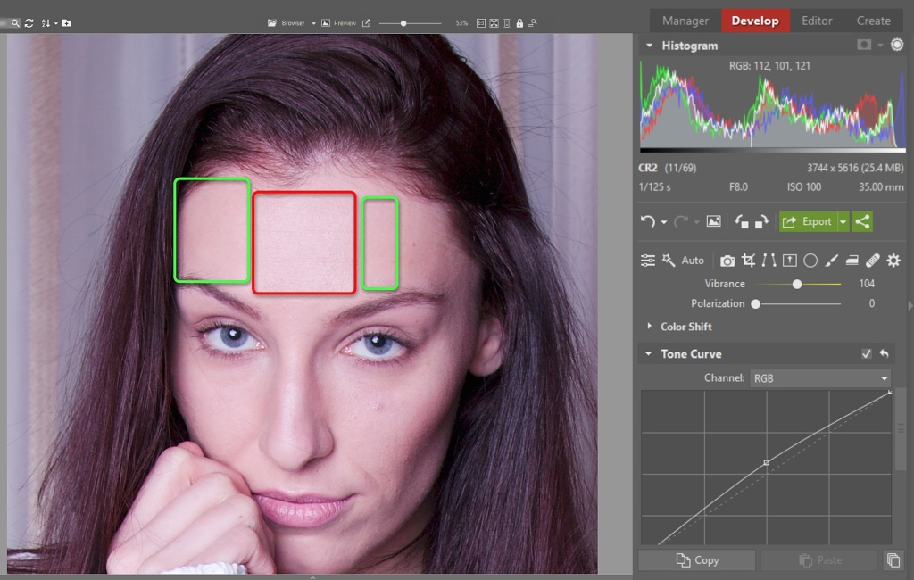 Learn to Edit Portraits and Discover the 5 Most Common Portrait Photo Problems- color