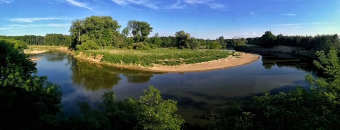 How to Photograph Landscapes with a Phone: a panorama created in a phone.