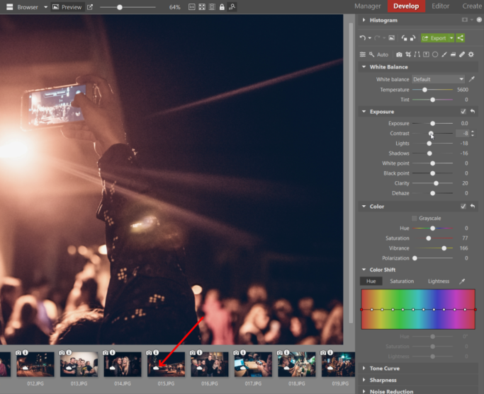 Back up your photos to the cloud: editing photos in a cloud.