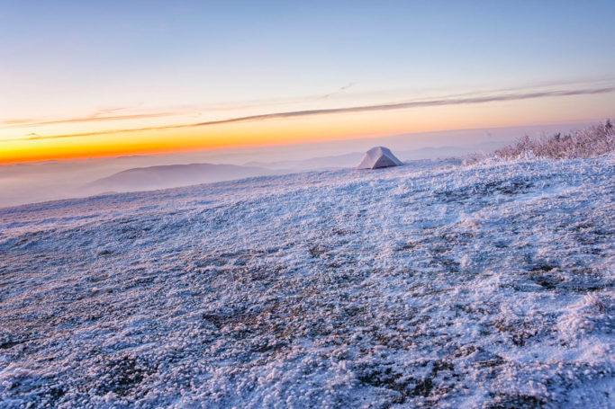 3 most common mistakes in landscape photography: tilted horizon.