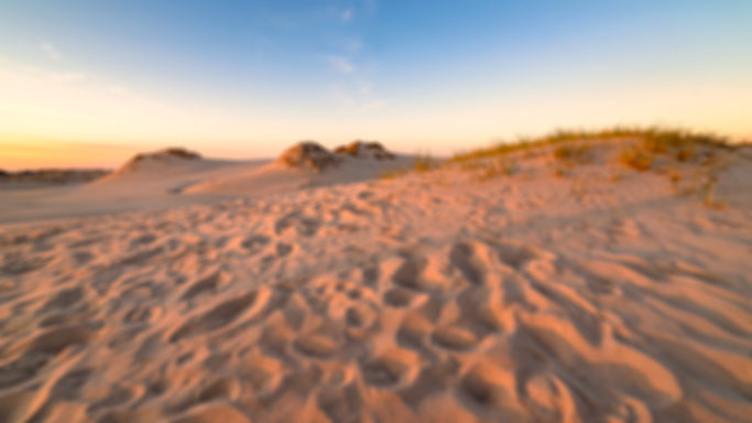 3 most common mistakes in landscape photography: a blurred photo.