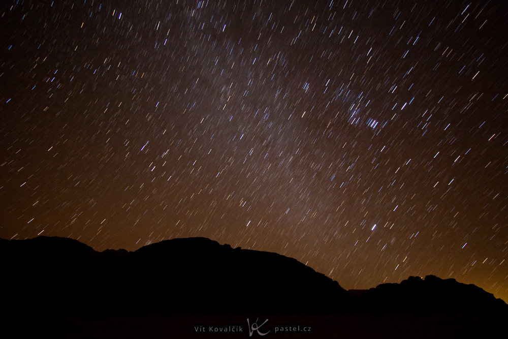 Landscape Photography at Every Hour - stretched stars