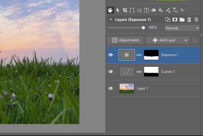 Local Edits of Landscape Photos: editing exposure of a photography's foreground.