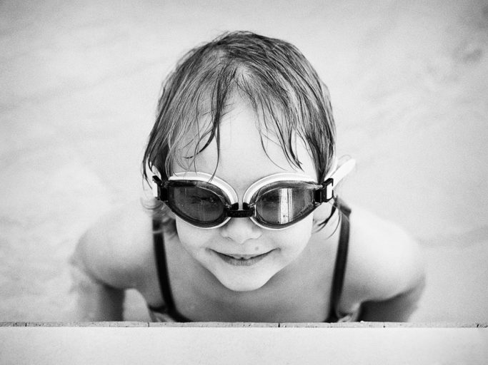 Vacation with a Camera and with Family: Child with glasses.