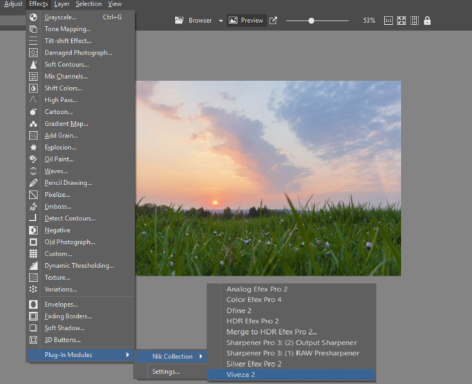 Local Edits of Landscape Photos: a path to the Viveza 2 plugin.