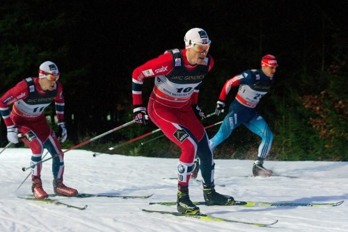 winter photography ski races
