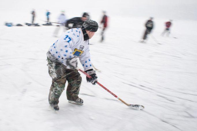 long exposure winter sport pics