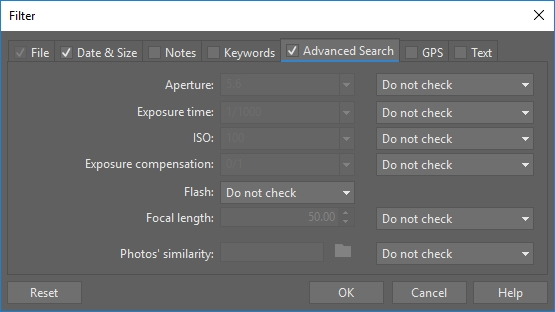Understanding EXIF and other metadata: filter.