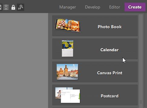 Create your own photo calendar: Create modul in ZPS X.