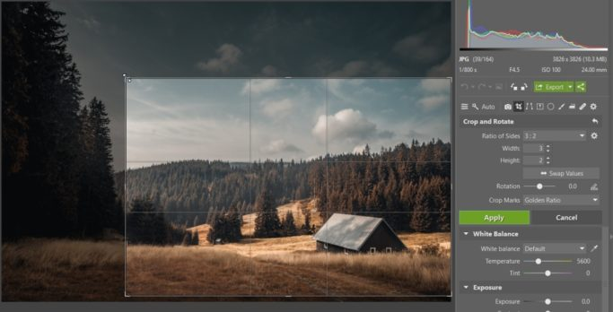 How to Improve a Photo With a Crop: Golden-Ratio Marks.