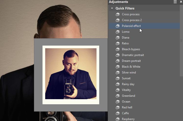 Give Your Photos a Vintage Look - polaroid