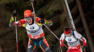 winter sports photography