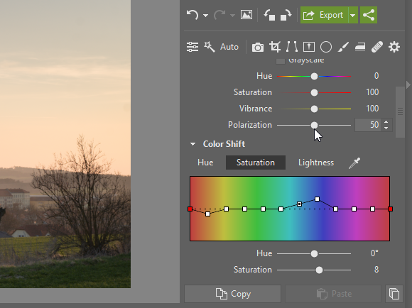 Battle of the Edits: color shift.
